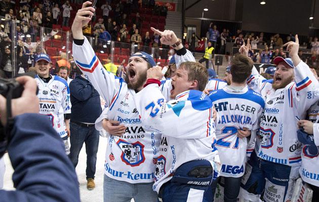 Keupa HT voitti Mestiksen SM-kultaa vuonna 2018.