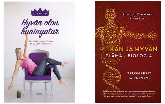 Kirjailoja: Hyvän olon kuningatar ja Pitkän ja hyvän elämän biologia