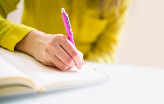 Asioiden kirjoittaminen ylös muistiin