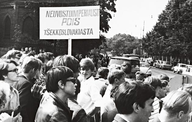 Prahan miehitys, mielen ilmaus Suomessa