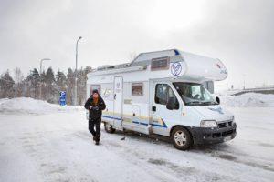 Jussi Wiik ja Visiitti-auto