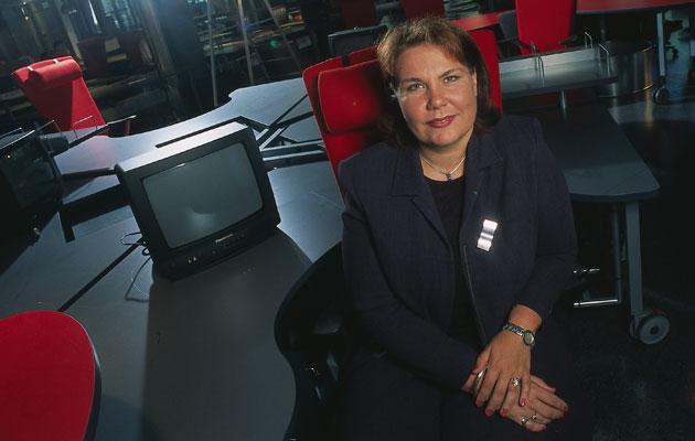 Merja Ylä-Anttila siirtyi MTV:n vastaavaksi päätoimittajaksi vuonna 1991.