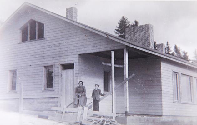 Aili Lampinen ja Antero Holma