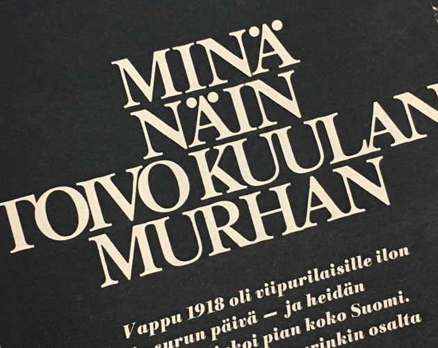 Säveltäjä Toivo Kuula murhattiin vuonna 1918 Viipurin Seurahuoneella: