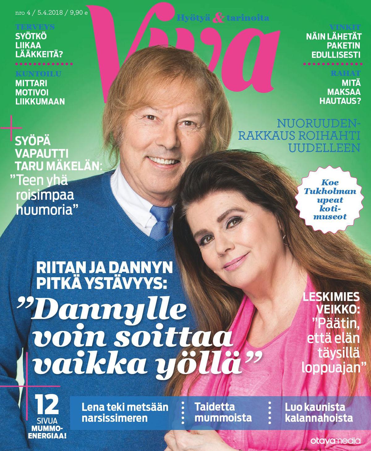 Viva-lehti 4/2018.