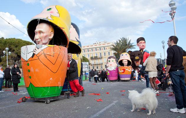 Vladimir Putinin lempinimi on maailmalla Botox.