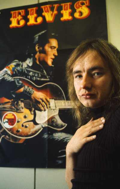 Elvis Presley oli Lauri Badding Somerjoen idoli.