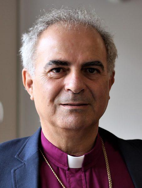 Ibrahim Azar, Jordanian ja Pyhän maan evankelis-luterilaisen kirkon piispa, on Suomen Lähetysseuran vieraana.