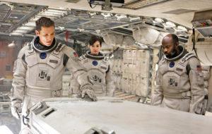 Matthew McConaughey, Anne Hathaway ja David Gyasi