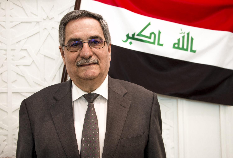 Irakin Suomen-suurlähettiläs Matheel Al-Sabti