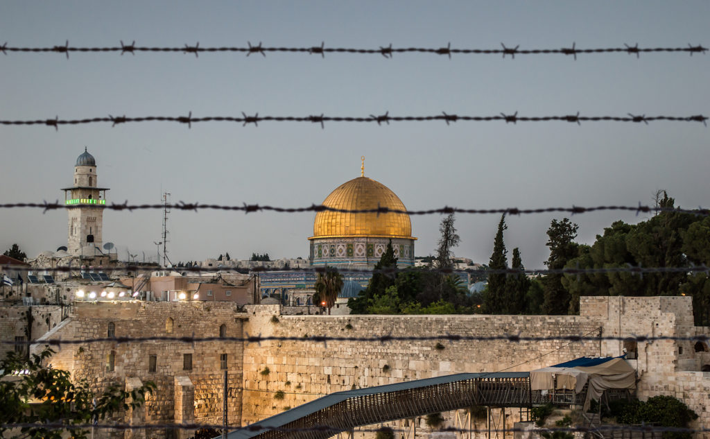 Jerusalem on kolmen eri uskonnon pyhä kaupunki.