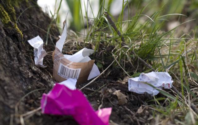 Suurin osa rannoille jätetyistä roskista on muovia.