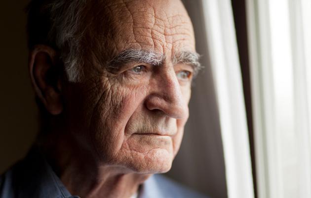Yksinäinen vanhus