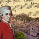 Mozart 24-vuotiaana, jolloin hän työskenteli Salzburgin arkkipiispan palveluksessa.
