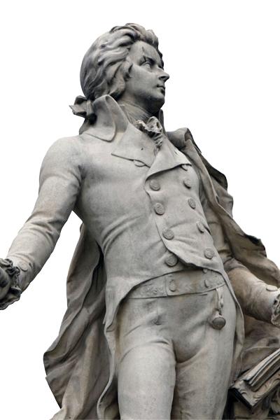 Mozartin patsas