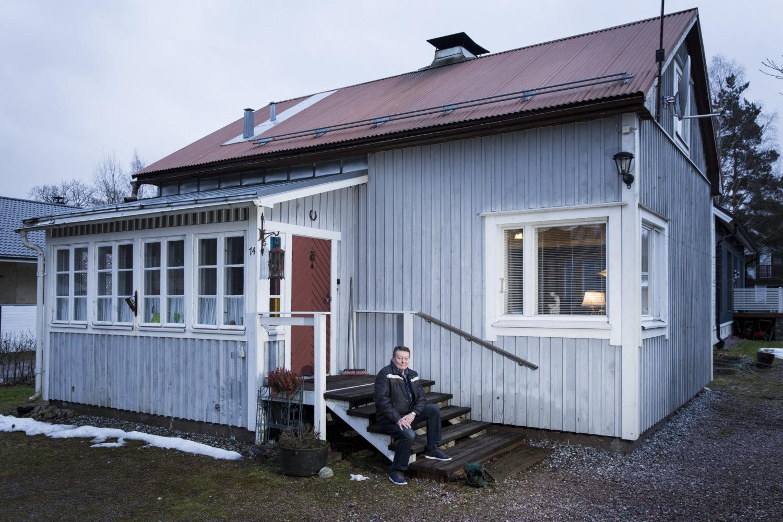 Rintamamiestalo Vantaan Rekolassa