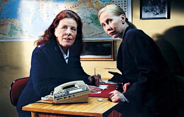 Kati Outinen ja Annikki Tähti