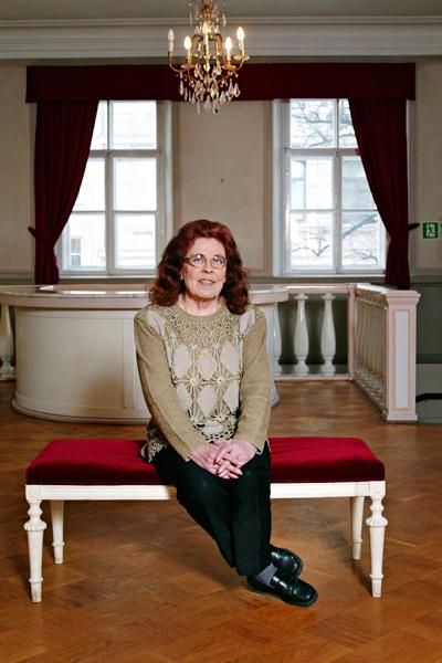 Annikki Tähti Savoy-teatterissa