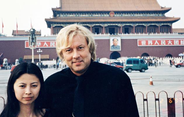 Vuonna 1977 Danny vieraili Kiinassa