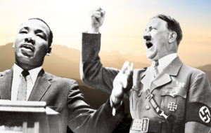 Martin Luther King, Adolf Hitler