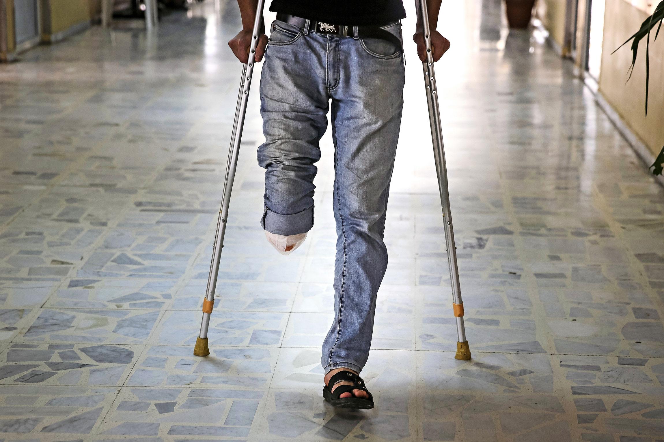 Syyrian sota tulee vastaan Tripolissa sijaitsevan pienen sairaalan käytävillä.
