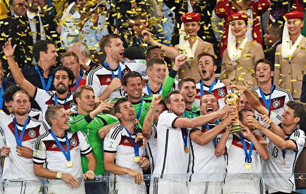 Saksa voitti maailmanmestaruuden