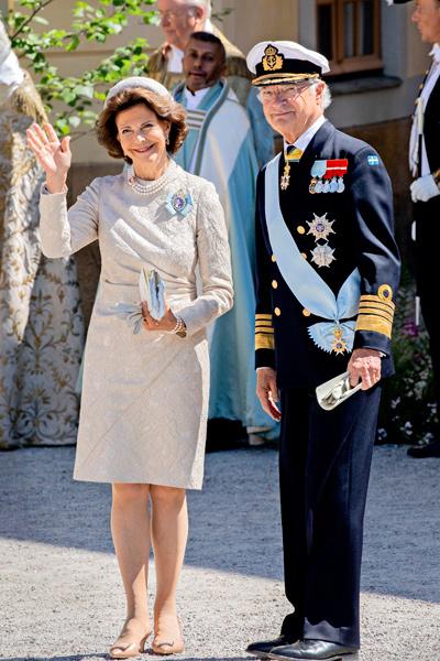 Kuningas Kaarle Kustaa ja kuningatar Silvia