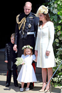 Prinssi William, Cambridgen herttuatar Catherine ja lapset prinssi George ja prinsessa Charlotte