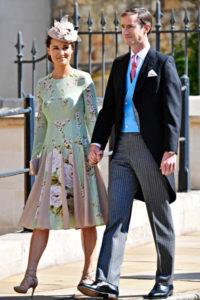 Cambridgen herttuatar Catherinen pikkusisko Pippa aviomiehensä James Matthewsin kanssa.