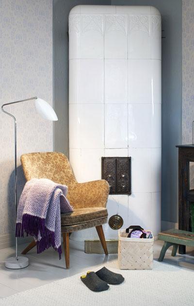 Hiort af Ornäsin jalopuiset, tyylikkäät sohvat ja nojatuolit nousivat jälleen suureen suosioon.