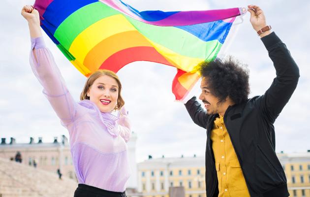 Rosa Kettumäki ja Sean Ricks