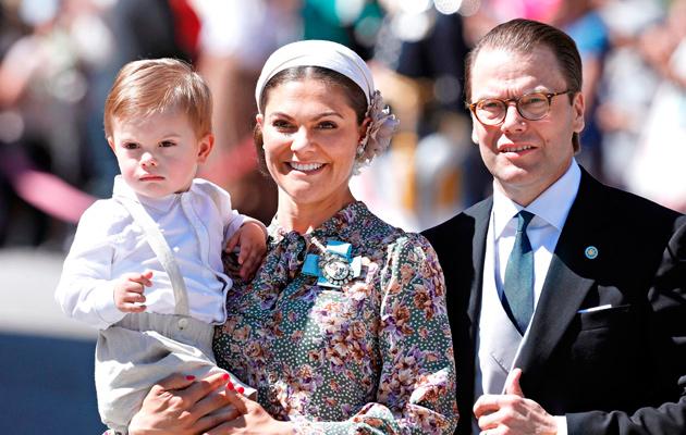 Kruununprinsessa Victoria ja prinssi Daniel