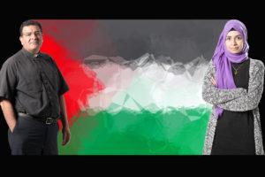 Palestiinalaiset Ramez Ansara ja Noor Assad asuvat Suomessa.