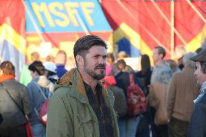 Näyttelijä Tommi Korpela on Sodankylän elokuvajuhlilla kolmatta kertaa peräkkäin.