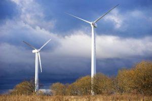 Kaliningradin alueella kerätään talteen tuulienergiaa.