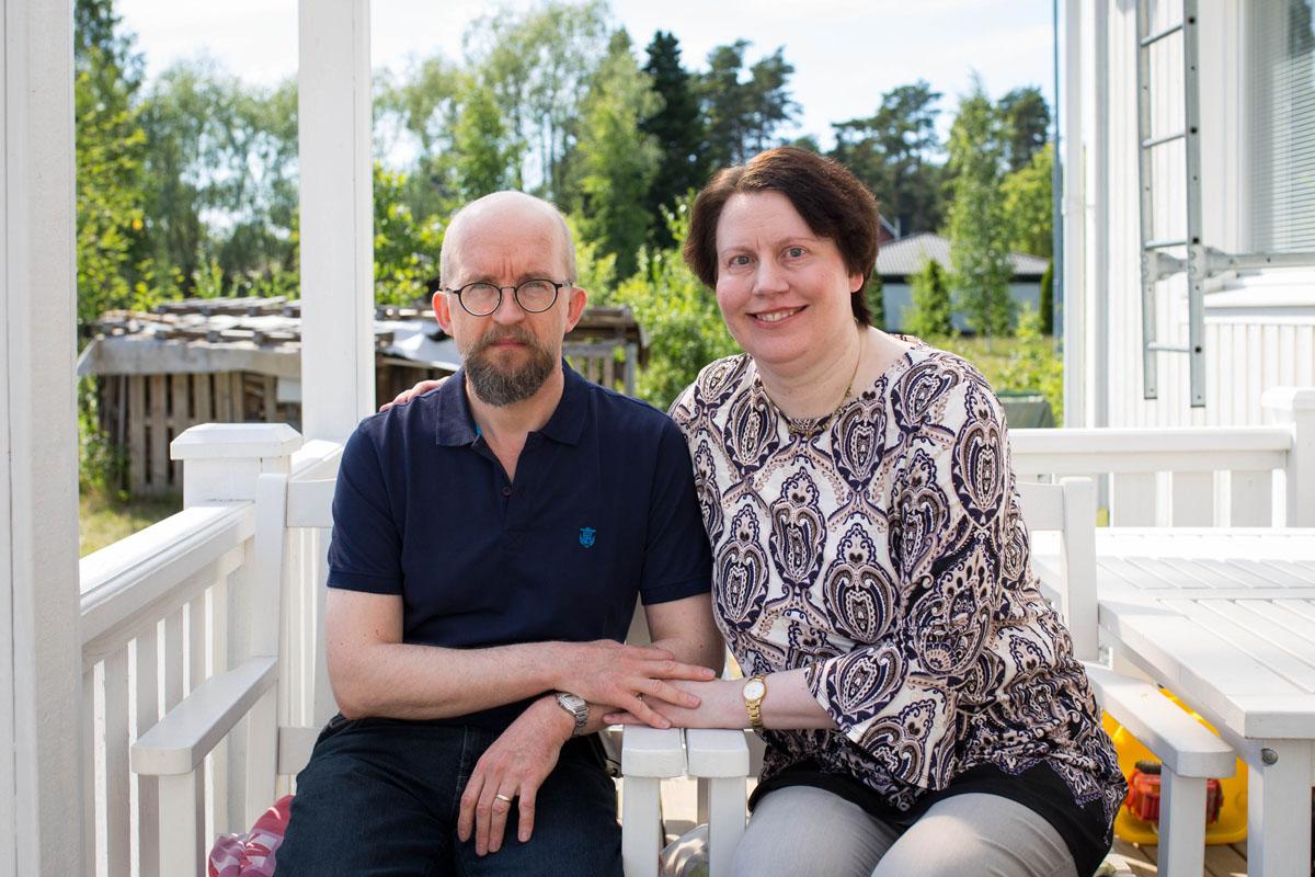 Antero ja Christa Säämäki.