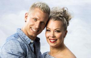 Antti Lehto ja Johanna Pakonen.