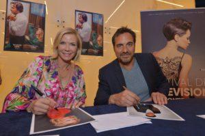 Kauniit ja Rohkeat -sarjan Brooke ja Ridge antoivat haastattelun Monacossa Seuralle.