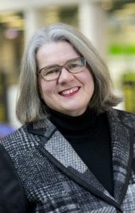 Ylen toimittaja Kerstin Kronvall.