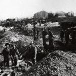 Kaivuualueet olivat karun yksinkertaisia ja työviikot seitsenpäiväisiä.