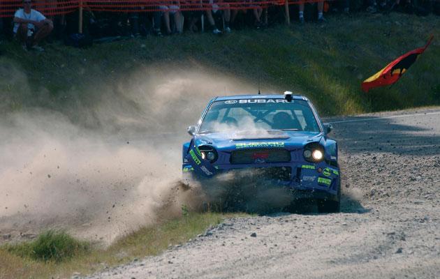 Ralliauto Neste Rallissa vuonna 2002