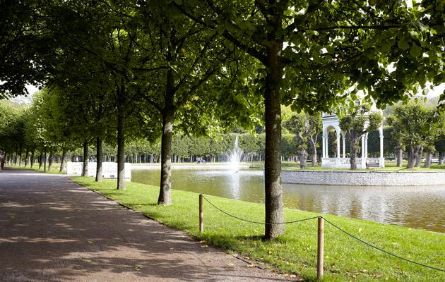 Vehreä Kadriorg-puisto