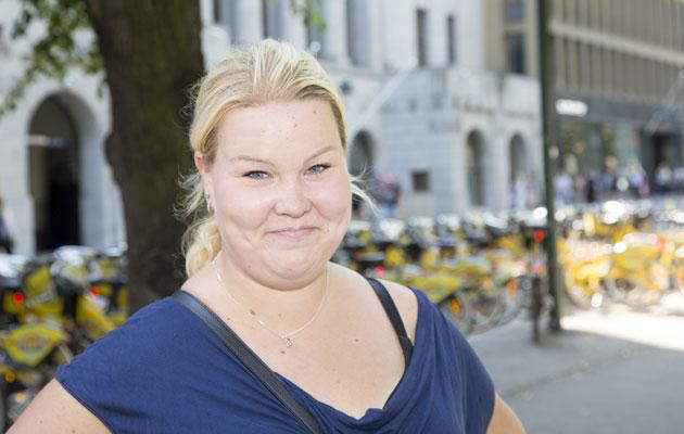 Jonna Holmberg mielestä huippukokouksen järjestäminen oli hieno asia Helsingille.