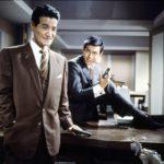 Jo Shisida (oikealla) oli Yakuza-filmien tähti.
