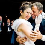 Rominan (Erica Rivas) ja Arielin (Diego Gentile) hääjuhlassa paljastuu kiusallinen salaisuus.