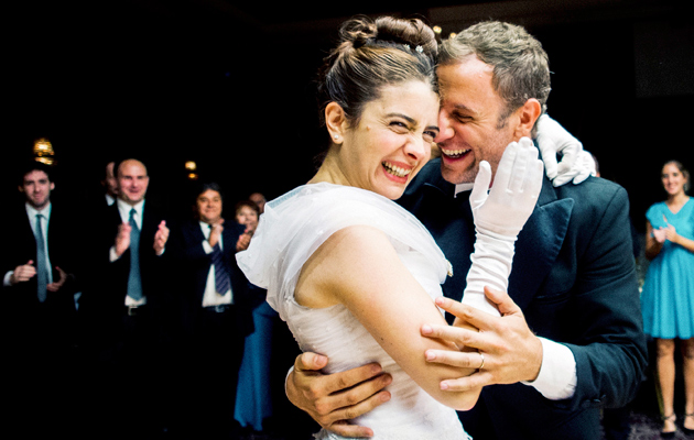 Erica Rivas ja Diego Gentile