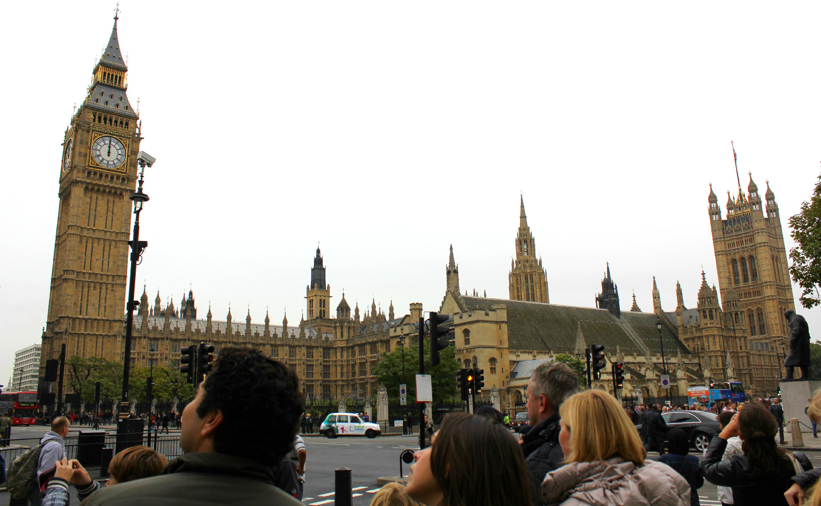Iso-Britannian parlamenttitalo.