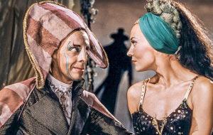 Dapertutto (Robert Helpmann) ja Giulietta (Ludmilla Tchérina).
