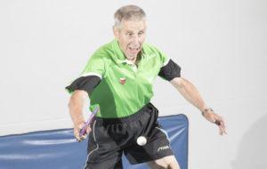 Kari Merimaa voitti maailmanmestaruuden pöytätenniksen 85-vuotiaiden veteraanisarjassa.