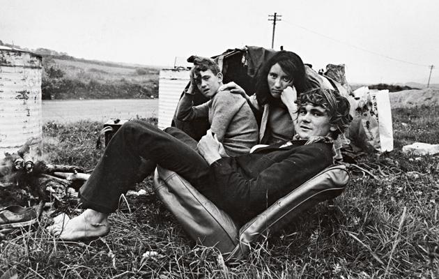 Irlannin kiertolaisia vuonna 1972.